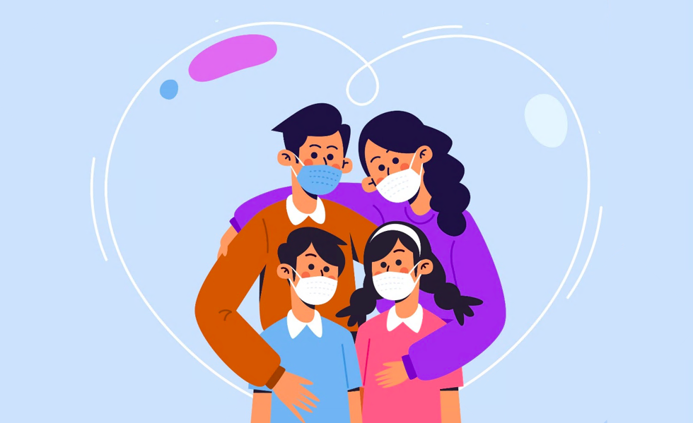 Portret zwaarbelast gezin tijdens coronacrisis